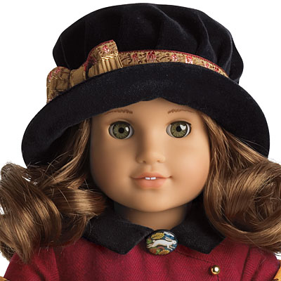 American Girl Rebecca Movie Dress NIB Necklace Hat Pink