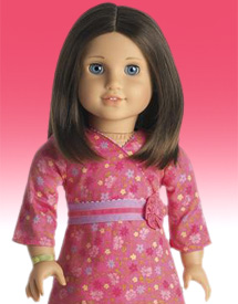 "Pink Long Sleeve Knit Top with Butterfly Fits 18/"" American Girl  Dolls"